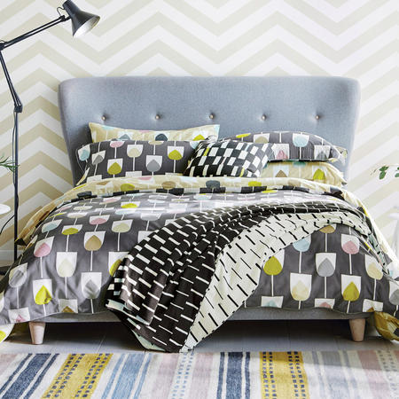Sula Coordinated Bedding Set Grey