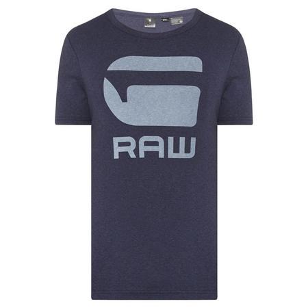 Drill Logo T-Shirt Navy