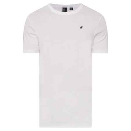 Drill Logo T-Shirt White
