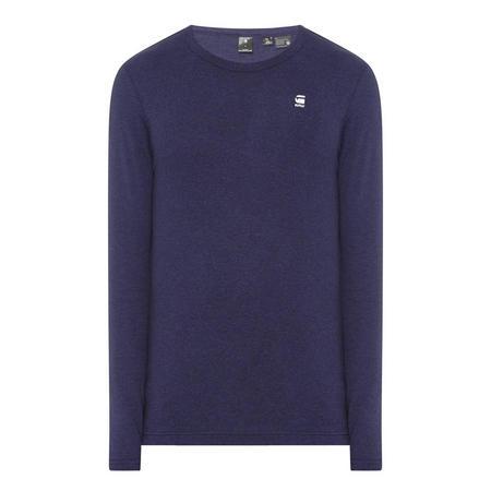 Dill Long Sleeve T-Shirt Navy