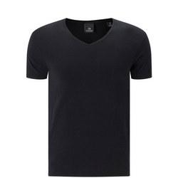 V-Neck T-Shirt Black