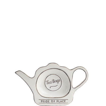 Pride Of Place Tea Bag Tidy White