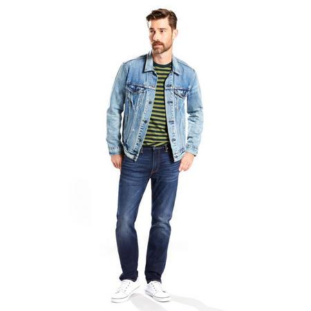 502 Regular Taper Fit Stretch Jeans Blue
