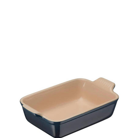 Stoneware Deep Rectangular Dish Ink