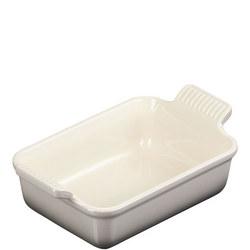 Stoneware Small Heritage Rectangular Dish Flint