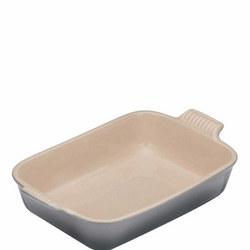 Stoneware Medium Heritage Rectangular Dish Flint