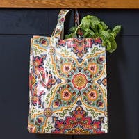 Moroccan Tiles Pvc Medium Bag Multicolour