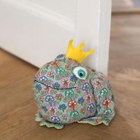 Frog Doorstop  Multicolour