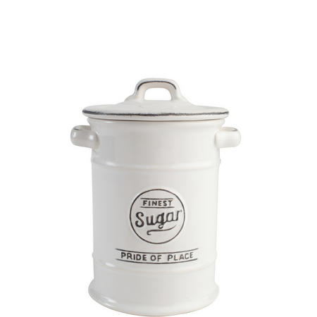 Pride Of Place Sugar Jar White