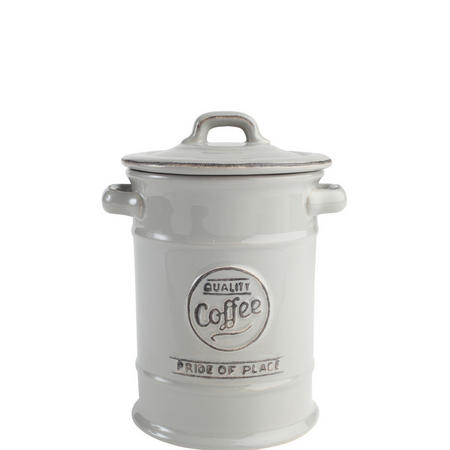 Pride Of Place Coffee Jar Grey