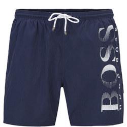 Octopus Swim Shorts Navy