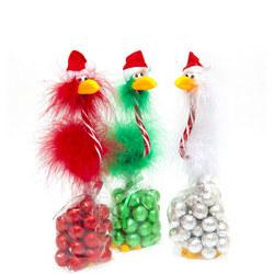 Christmas Bird Pen & Chocolates