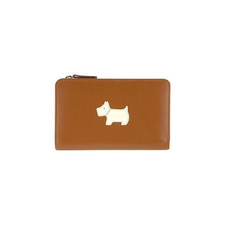 Heritage Zip Dog Wallet Brown
