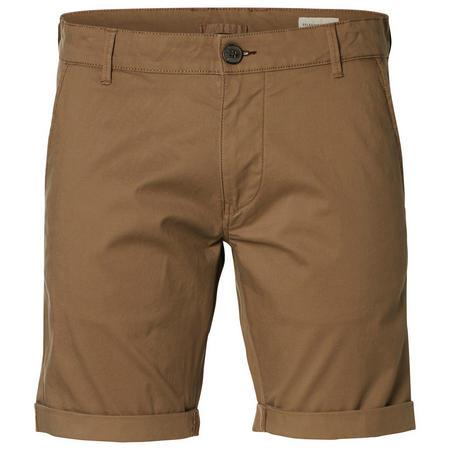 Paris Chino Shorts Brown
