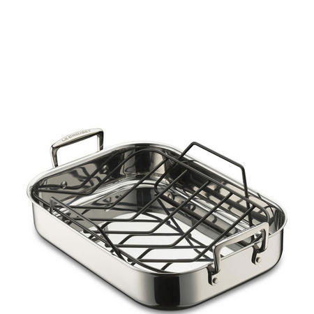 Stainless Steel Roaster with Rack 32 cm