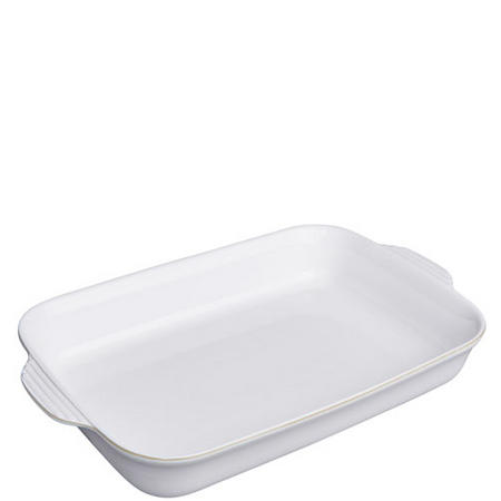 Natural Canvas Large Rectangular Dish
