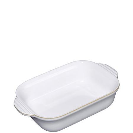 Natural Canvas Small Rectangular Dish