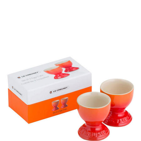 Set Of 2 Egg Cups Volcanic