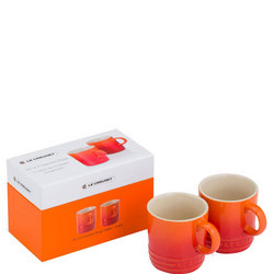 Set Of 2 Espresso Mugs Volcanic