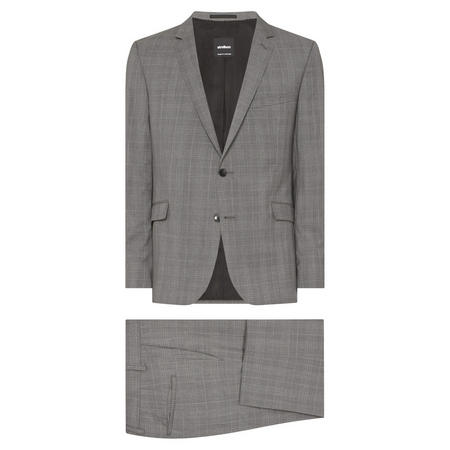 Allen Mercer Two-Piece Suit Grey