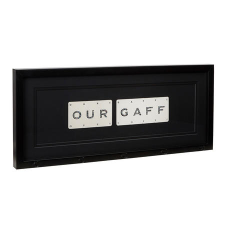 Our Gaff Key holder Black