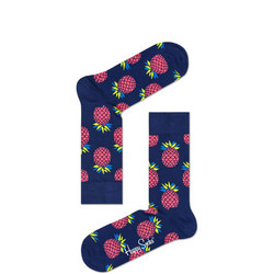Pineapple Socks Navy