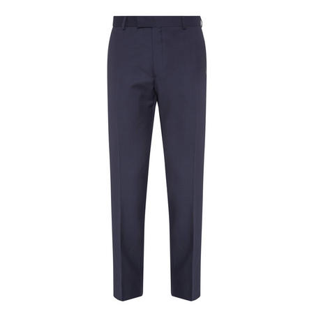 Wool Trousers Navy