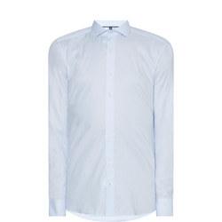 Textured Formal Shirt Pale Blue
