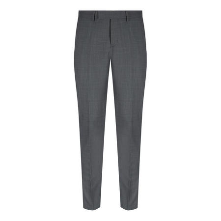 Solid Lite Suit Trousers Grey