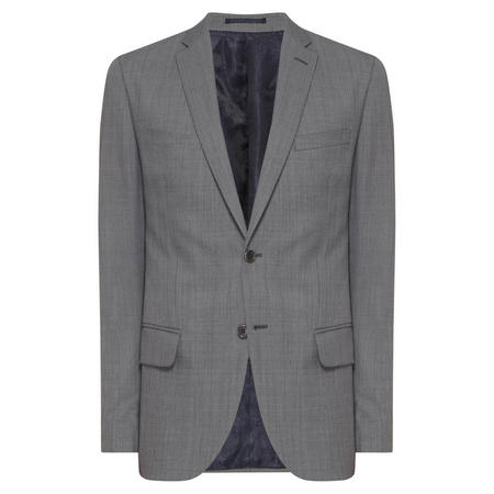 Lanificio Cerruti Slim Fit Suit Jacket Grey