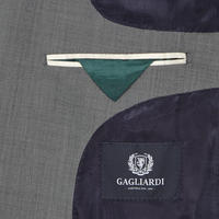 Lanificio Cerruti Slim Fit Suit Jacket Grey