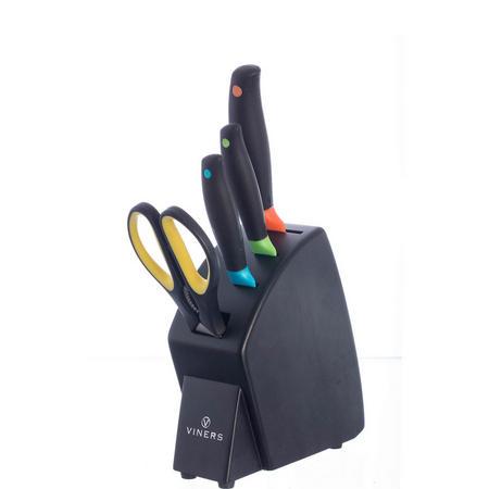 Spectrum 4 Piece Knife Block