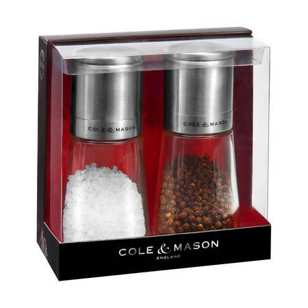 Clifton Salt and Pepper Mills Multicolour