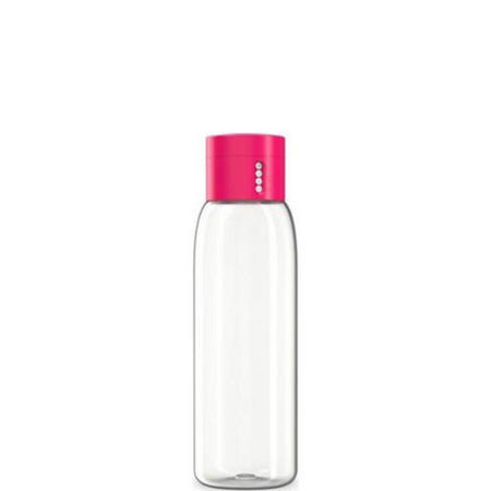 Dot Hydration Tracking Bottle Pink