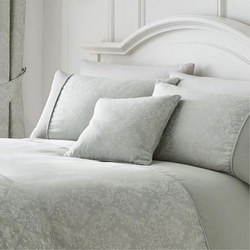 Serene Laurent Cushion Silver
