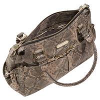 Aryella Python Tote Changing Bag Black