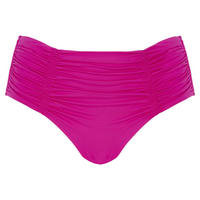 Gathered Bikini Briefs Pink