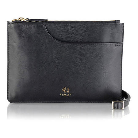 Pockets Medium Crossbody Bag  Black