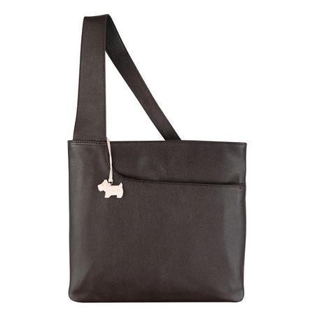 Pockets Large Crossbody Bag  Brown