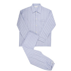 Arran Striped Pyjamas Blue