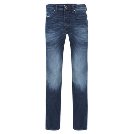 Buster Tapered Jeans Mid Blue