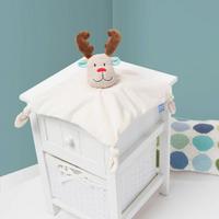 Reindeer Gro Comforter White
