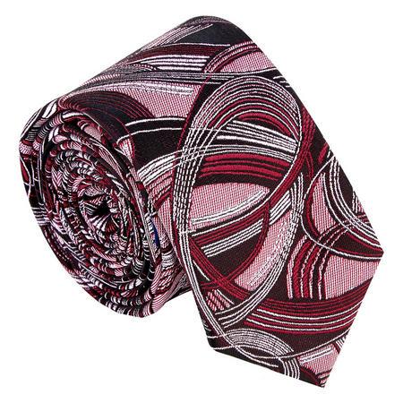 Swirl Pattern Tie Red