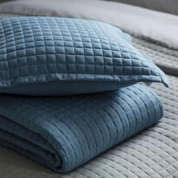 Crompton Cushion Cobalt