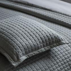 Crompton Cushion Grey 45 x 45cm