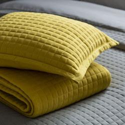 Crompton Cushion Saffron 43 x 43cm