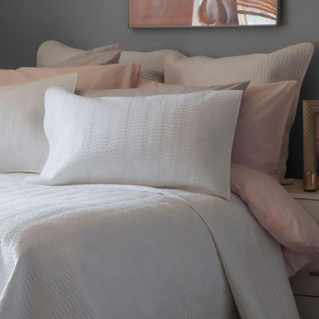 Stratford Square Pillowcase Grey