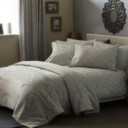 Bromley Duvet Cover Set White