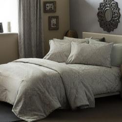 Bromley Duvet Cover White