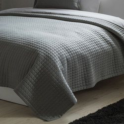 Crompton Throw Grey